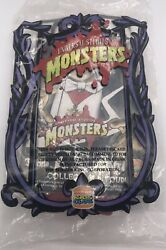 Dracula 1997 Burger King Kids Club Promotional Fig. W/coffin Universal Monsters