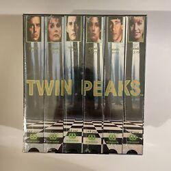 Twin Peaks Season 1 And 2 Vhs Sealed Check Pictures David Lynch Worldvision