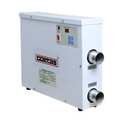 220v Swimming Pool And Spa Heater Electric Heating Thermostat 11kw 15kw