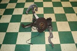 14-17 Ghibli Left Front Driver Knee Upper Lower Control Arm Spindle Top Bottom