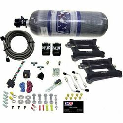 Nitrous Express 30245-12 Conventional Stage 6 Nitrous Plate System