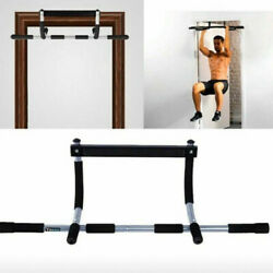 Chin Pull Up Bar Exercise Heavy Duty Doorway Fitness Multi Function Home Gym Hq