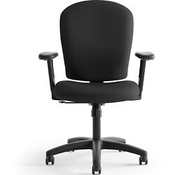 Basyx By Hon Vl220 Series Mid-back Task Office Chair Black