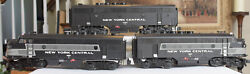 Lionel 6-14552 And 14555 Nyc New York Central F3 Aba Diesel Locomotive Set