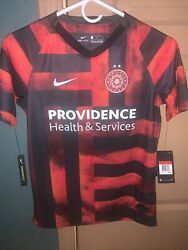 New Nike Portland Thorns Fc Ar0718-671 Soccer Jersey Retail 75 Youth Large
