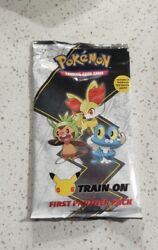 Pokemon First Partner Pack May Jumbo Kalos Cards +2 Booster Sealed