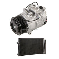 For Bmw 535i Gt Xdrive 2011 2012 2013 Ac Compressor W/ A/c Condenser And Drier Dac