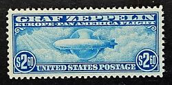 Us Stamps, Scott C15 1930 Airmail Blue 2019 Psag Gc Xf/sup 95 M/nh. Gorgeous