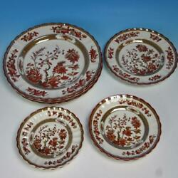 Copeland Spode - India Tree - 3 Dinner, 1 Luncheon, 2 Bread Plates, 3 Saucers