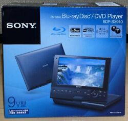 Sony Bdp-sx910 Blu-ray Disc Dvd Portable Player 9 Inch Led Dynamic Surround
