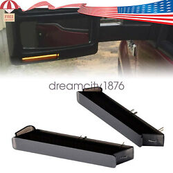 Smoked Sequential For Ford F-150 2004-15 Led Under Side Mirror Turn Signal Light