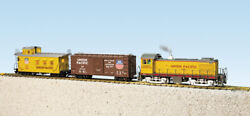 Usa Trains G Scale R72400 Union Pacific S4 Diesel Freight Set Ready To Run Set
