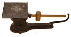 Antique Deco 1932 Cast Iron And Brass Howe Industrial Postal Scale