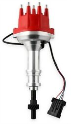 Msd Ignition 2378 Pro-billet Efi Dual Sync Distributor Ford 351w Clear Anodized