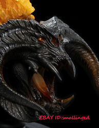 Led Light Effects Hot Weta Balrog Bust Demon Shadow Flame Lord Of The Rings Udun