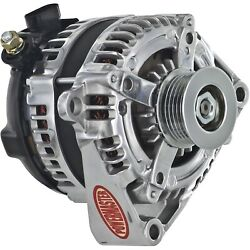 Powermaster 864009-1 Gm 12si-style Alternator Polished 1-wire 175 Amp 6 Groove B
