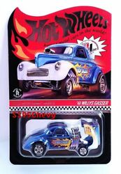 2020 Hot Wheels Selections And03941 Willys Gasser Wild Blue In Hand