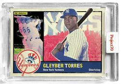 Mlb Project70 Baseball 1960 Gleyber Torres Trading Card [65 By New York Nico]