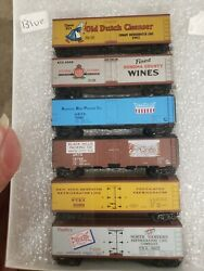N Scale Micro Trains Reefer Cars Old Dutch Cleaners, Sonoma County Wines, Abpi..