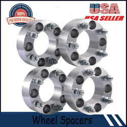 4pcs 2 Wheel Spacers Adapters 5x4.75 12x1.5 Studs For Chevy Camaro Corvette S10