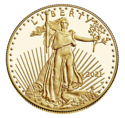 American Eagle 2021-w One Ounce Gold Proof Coin 21eb - Beautiful