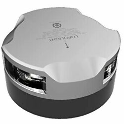Lopolight Masthead Anchor Andamp Stern Light - 3nm - Single - Silver Housing -