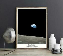 Earthrise Photo Earthrise Poster 11x17in 16x24in