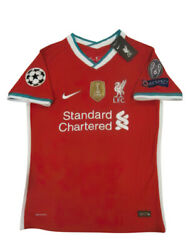 Liverpool Mohamed Salah 11 Jersey 2021 New With All Tags Patches