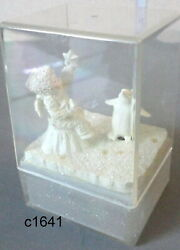 Dept 56 Snowbabies Pewter Wishing Upon A Star Musical Figurine 76473 New In Box