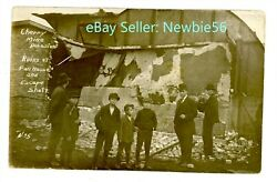 Cherry Il - Mine Disaster-ruins Of Fan House And Escape Shaft - Postcard Illinois