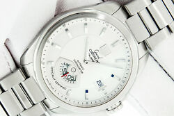 Tag Heuer Men's Watch Stainless Steel Silver Dial Grand Carrera 40mm Chronog...