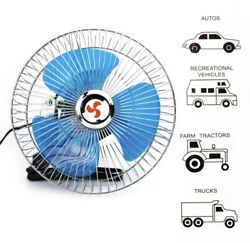"""8"""" Fan With Clip For Car Portable Mini 12 V Volt Electric Cooling Suv/truck/auto"""