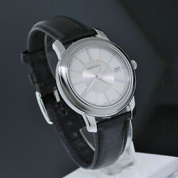 And Co. Stainless Steel Roman Numeral Atlas Mark Round Automatic Men Watch