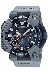 Casio Watch G-shock Royal Navy Collaboration Model Gwf-a1000rn-8ajr Menand039s Gray