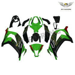 Ms Injection Fairing Fit For Kawasaki Ninja 2011-15 Zx10r New Color Scheme Y037