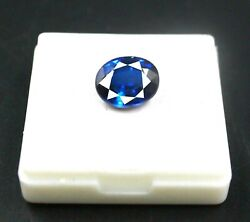 Amzaing Offer Oval Shape 10.40 Ct Certified Natural Blue Sapphire Gemstone Yv800