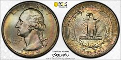 1939 Washington Quarter D Brent Pogue Pedigree Pcgs Ms67+ With Cac Approval