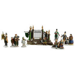 Department 56 Dickens Village Christmas Carol Reading-set Of 7 - Boxed 4261411