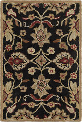 Surya Cae-1053 Caesar Classic Traditional Oval Charcoal 8and039 X 10and039 Oval Area Rug