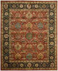Nourison 9and0396 X 13and0396 Jaipur Brick Rectangle Area Rug