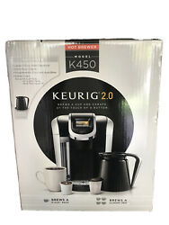 Keurig Coffee Maker Brewer 2.0 K450 Single Serve And Carafe New Open Box