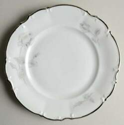 Hutschenreuther Gray Rose Salad Plate 232822