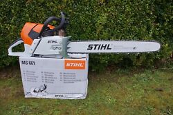 Stihl Ms661c - Chainsaw With 25 Inch Bar And Chain. Magnum Ms661 Or 661 Ms 661c
