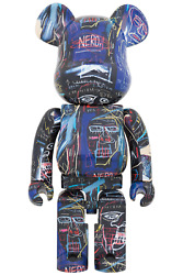 Be@rbrick Bearbrick Jean-michel Basquiat 7 1000 Limited Edition From Japan
