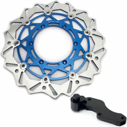 320mm Front Brake Rotor Disc Adapter For Suzuki Drz400e Drz400s 00-08 Rm 125 250