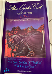 Blue Oyster Cult - Rare French Promo - 40x60cm - Rare Poster Rolled