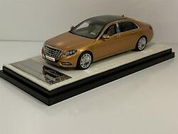 Mercedes Maybach S Class 2016 Gold 143 Scale Almost Real 420104