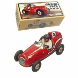 Schylling Grand Prix Racer Tin Plate Race Car With Piston Pounding Engine Sound
