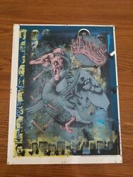 Baroness John Dyer Baizley And Aaron Horkey - Test Print , Signed And Emboss