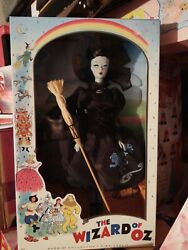 2010 The Wizard Of Oz Vintage Face Wicked Witch Of The West Barbie Doll